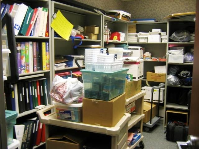 Hospital Storage Room