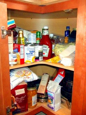 Kitchen Corner Cabinet With Time to Spare