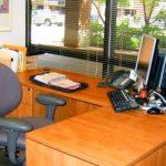 Hospital Administrator's Desk