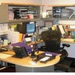 If I clear off my desk, it'll look like I don't have any work!