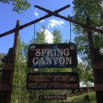 Spring Canyon in Buena Vista, CO